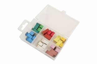 Connect 30723 24 Piece Assorted J Type Low Profile / J Type Fuses
